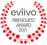 eviivo - Friendliest Award 2011